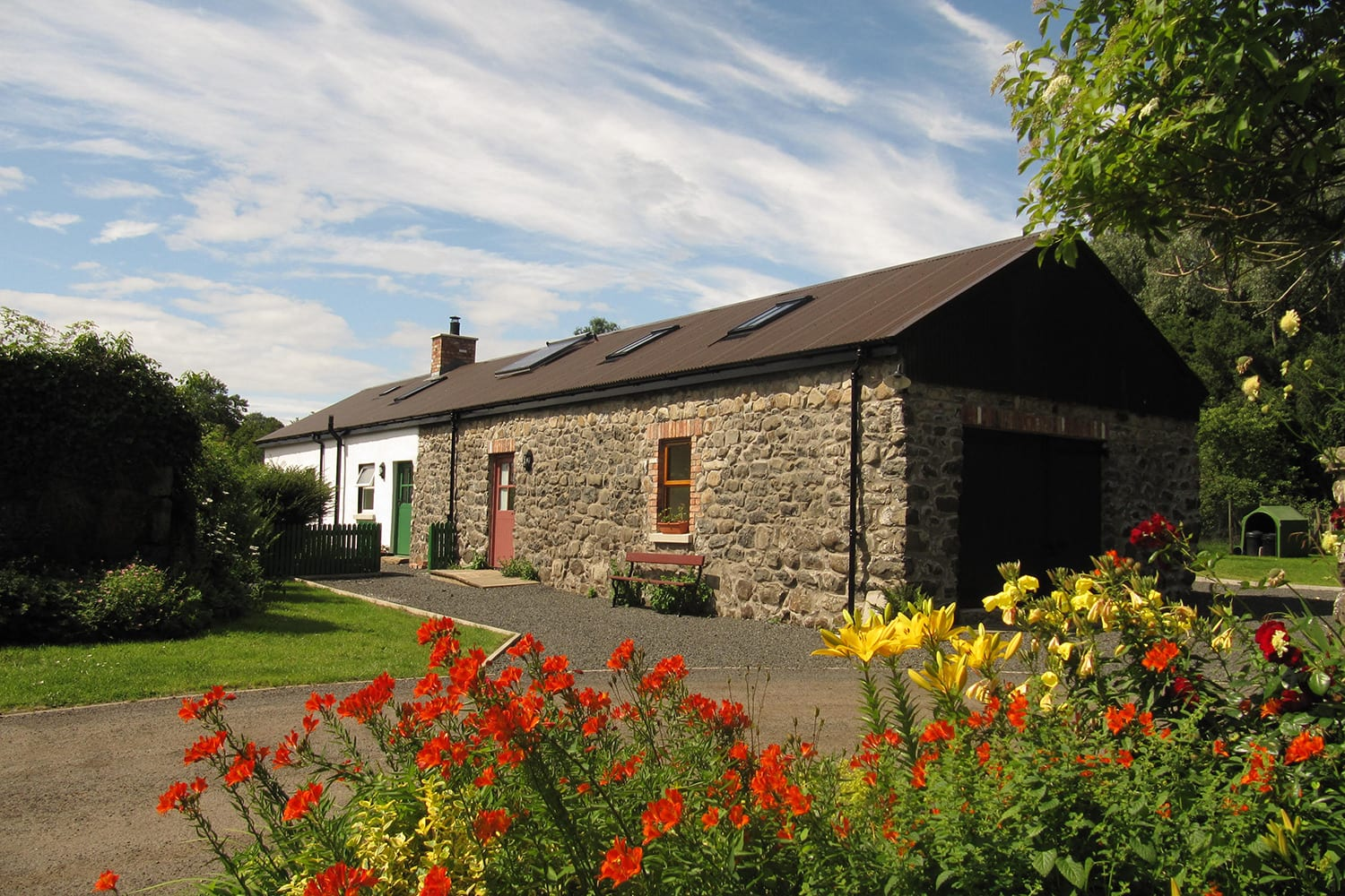Apple Barn and Apple Cottage at Cherrybrook Self Catering in Antrim